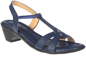 Khadim's Women Navy Blue Mules