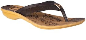 Khadim's Women Brown Casual Flats