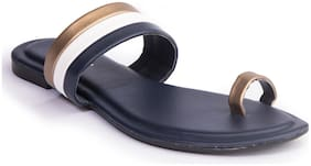 Khadim's Women Navy blue Sandals