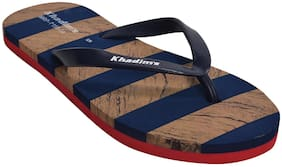 Khadim's Women Blue Flipflops