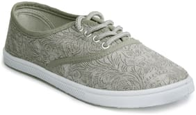 Khadim's Women Grey Sneakers