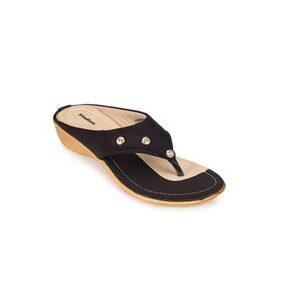 Khadim's Black Slippers