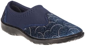 Khadim's Women Navy Blue Sneakers