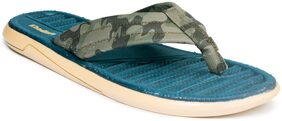 Khadim's Men Green Outdoor Slippers