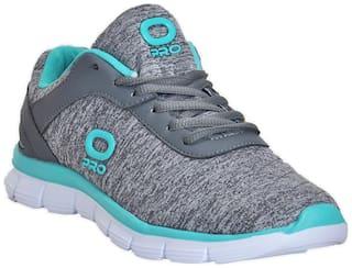 Khadims Pro Grey Sports Activity Sneakers