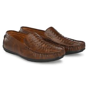 KIATU Men Brown Loafers - KT-161