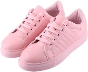 IRSOE Women Pink Casual Shoes -