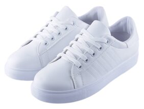 IRSOE Women White Casual Shoes