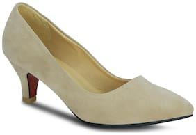 Kielz-beige-slip-on-heels