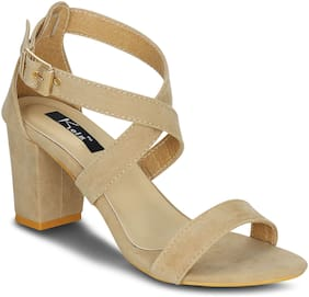 Kielz-Beige-Block-Heel-Sandals