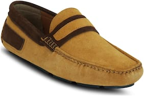 Kielz Men Beige Loafer