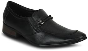 Kielz Black Formal Shoes