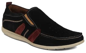 Kielz Black Loafers