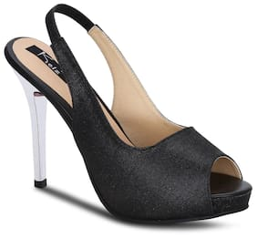 Kielz-black-slip-on-heels