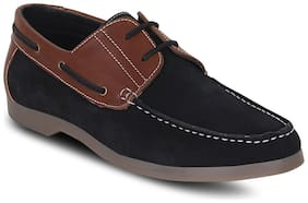 Kielz Black Casual Shoes