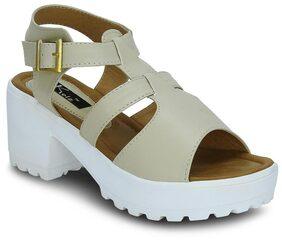 Kielz Cream Women Heels