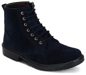Kielz Men Blue Boots