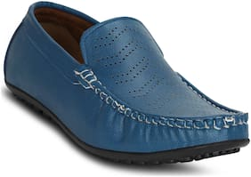 Kielz-Blue-Slip-On-Men's-Loafers