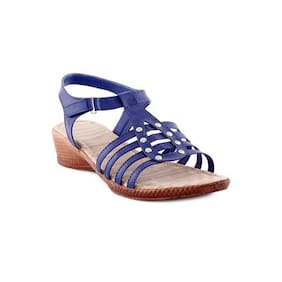 Kielz Women Blue Wedges