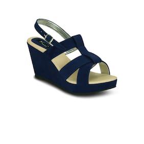 Kielz-Blue-Wedge-Sandals
