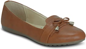 Kielz-Brown-Slip On-Flat-Women-Bellies