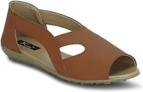 Kielz Women Brown Sandals