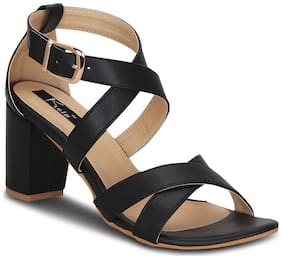 Kielz Women Black Sandals