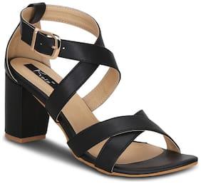 Kielz-Buckle-Black-Synthetic-Sandals
