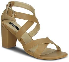 Kielz-Buckle-Beige-Synthetic-Sandals