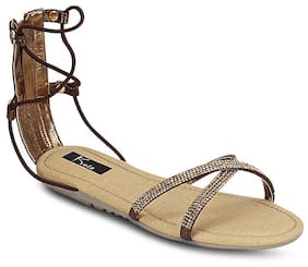 Kielz Copper Women Sandals