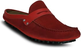 Kielz-Fancy-Red-Slip-on-Man's-Loafers