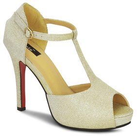 Kielz golden heels