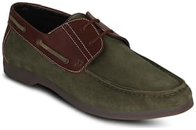 Kielz Green Casual Shoes