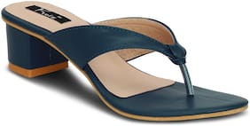 Kielz Women Blue Sandals