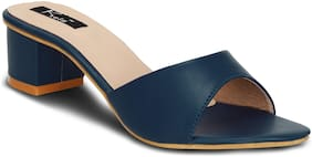 Kielz Women Navy Blue Sandals