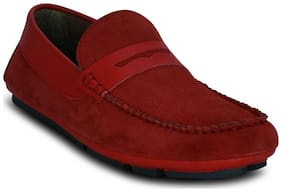 Kielz Men Red Loafer