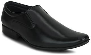 Kielz Men Black Formal Shoes