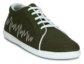 Kielz Men Green Casual Shoes