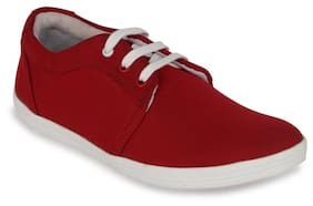 Kielz Red Casual Shoes
