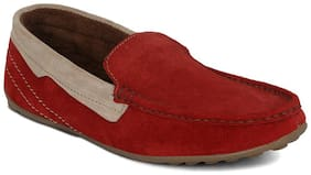 Kielz Red Loafers