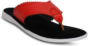 Kielz-Red-Slip-On-Men'S-Slippers