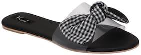 Kielz Women Black Sandals