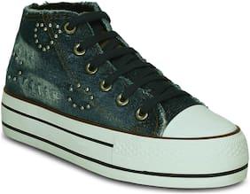 Kielz Women Blue Sneakers