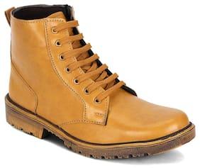 Kielz Men Brown Boots