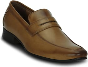Kielz Men Tan Loafer