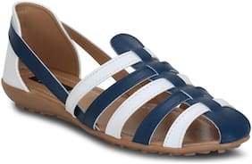 Kielz Women White Sandals