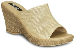Kielz-Women's-Gold-wEDGES