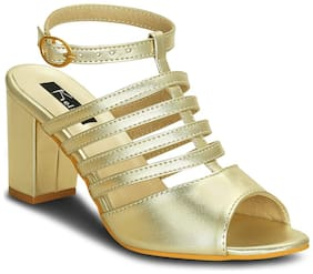 Kielz-Women's-Gold-HEELS