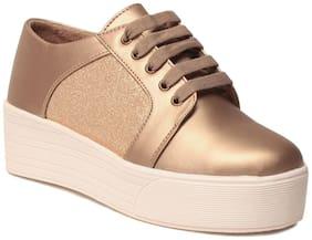 Klaur Melbourne Women Gold Casual Shoes