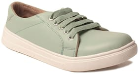Klaur Melbourne Women Green Casual Shoes